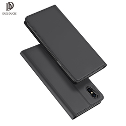 DUX DUCIS Leather Smart Case For iPhone Xs Max Case iPhone Xs Luxury Flip Wallet Phone Cover for iPhone Xs Max X S Hoesje Funda 1