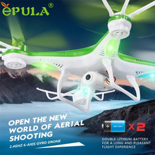 HL 2016 JJRC H97 2.4GHz 4CH 6-Axis LED With Camera RC Quadcopter Drone OC26 E22