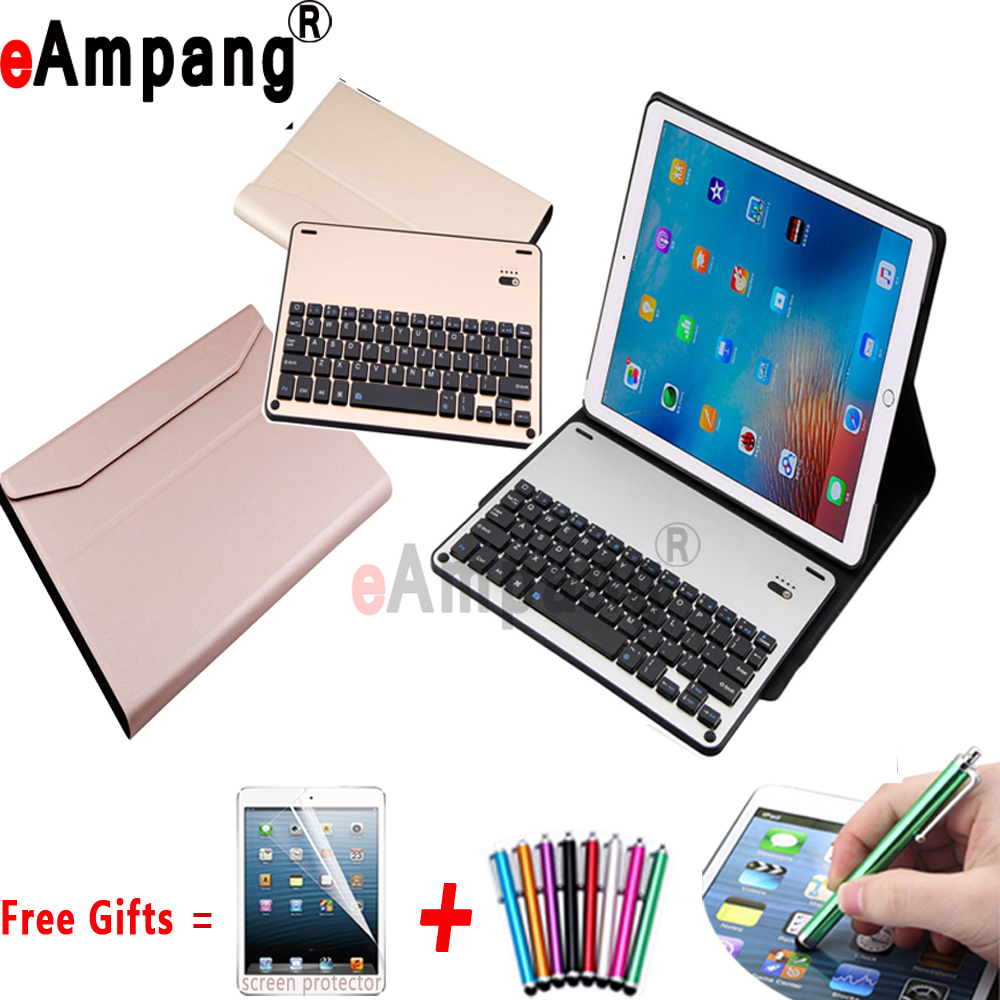 Aluminum Alloy Wireless Bluetooth Keyboard Case For Apple iPad Pro 10.5 inch New Cover Coque Capa Funda Shell Bluetooth Keyboard e reader case for pocketbook touch hd case cover coque shell funda hulle custodie