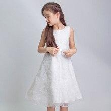 Flower Party Wedding Birthday flower girl dress,Candy Colors Princess Girl Dress Spring Summer