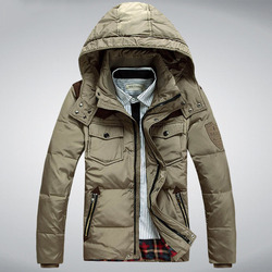 Solid color patckwork men duck down parkas high quality winter warm man casual jackets hooded slim.jpg 250x250