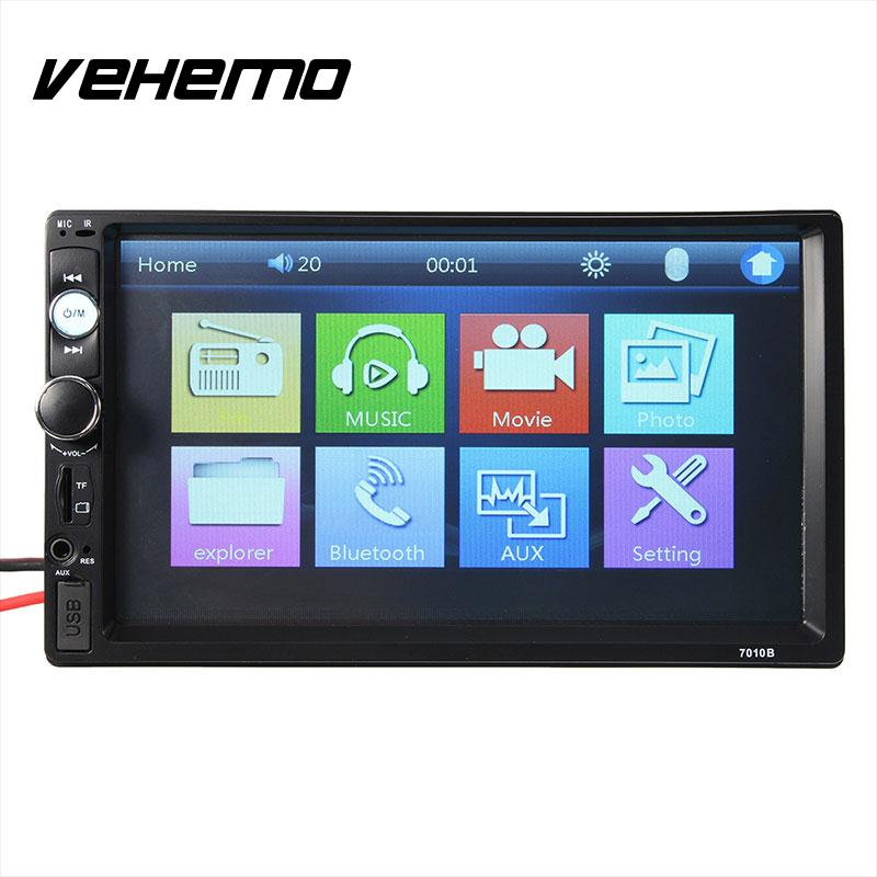 Universal 7 Touch Screen 2 DIN In-Dash Bluetooth Car USB TF FM MP5 PlayerUniversal 7 Touch Screen 2 DIN In-Dash Bluetooth Car USB TF FM MP5 Player