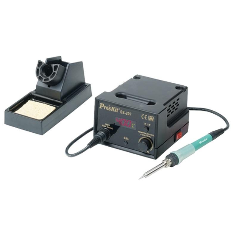 цена на SS-207H 60W 110V/220V Soldering Station Adjustable Temperature Electric Iron Welding Soldering Iron Solder Rework Repair Tool