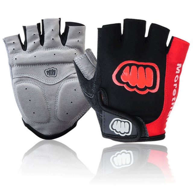 Cool!outdoors Sport Gloves Unisex Cycling Anti-shock Gloves Bicycle Motorcycle Sport Gel Half Finger GlovesM-L-XL Size 4 Colors