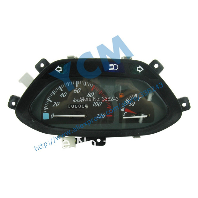 Scooter Instrument , Motorcycle Speedometer, Tachometer , YB-LINY, Free Shipping