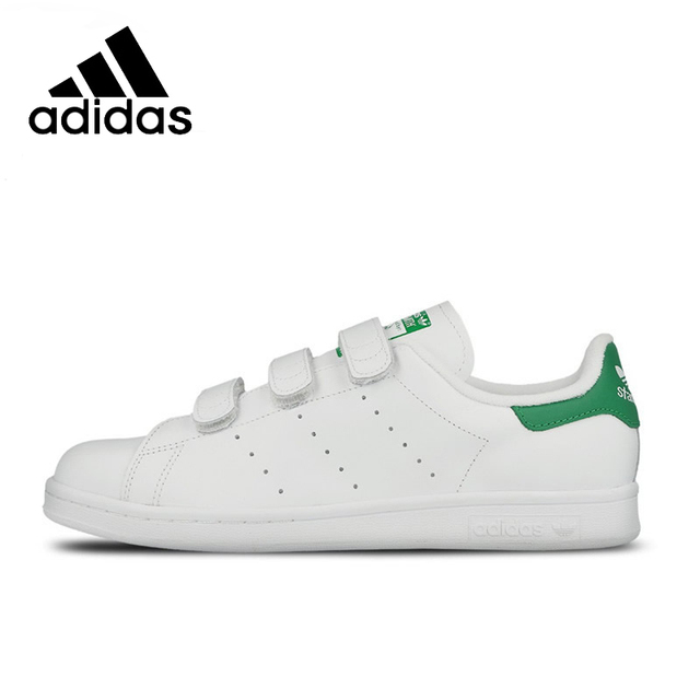ADIDAS Original New Arrival STAN SMITH Smith Magic Mens Skateboarding Shoes  Stability Breathable High Quality For