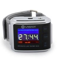 cold laser watch Semiconductor laser instrument LLLT Intranasal light therapy for cholestrol/ diabetes/cardiovasuclar