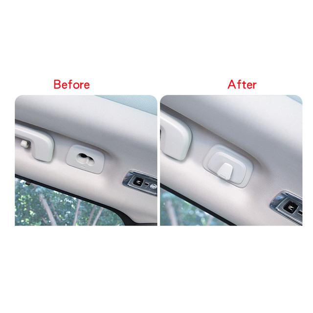 Envío gratis 2 piezas de ganchos para el techo del coche para VOLVO 2018-2019 XC60 2015 -accesorios para coche 2019 XC90