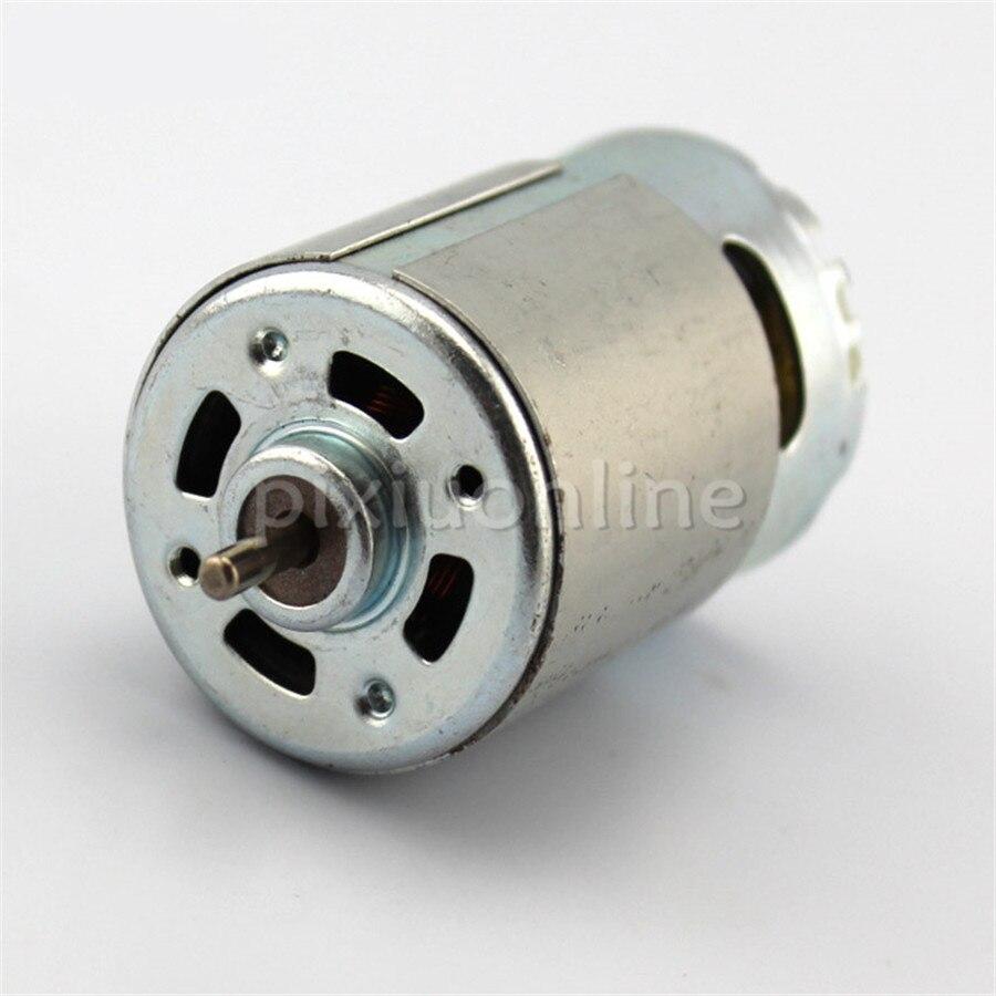 1pc J644 550 Double Output Shaft DC Motor 6-12V Big Model Toy Car Motor цена