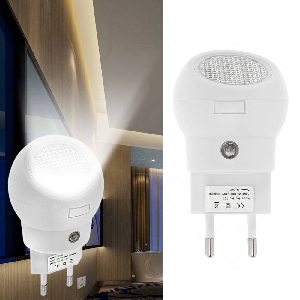 Newest LED Night Light 360 Rotation Plug And Play With Light Sense Automatically Switch On Or Off For Baby Bedroom
