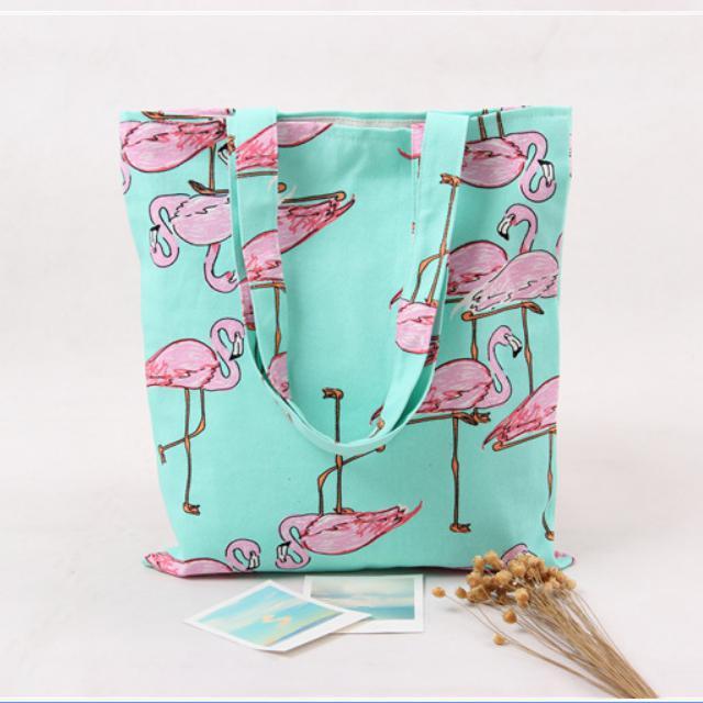 2017 New Fashion Flamingo tote bag girls School handbag shopping shoulder bags Women travel tote Bag fashion neoprene travel picnic food insulated lunch bag tote cooler bag handbag for women kids thermal bag lunchbox bag tote