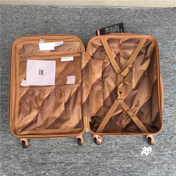 perfect Large capacity, high quality 20/26/30 inch size PC Rolling Luggage Spinner brand Travel Suitcase