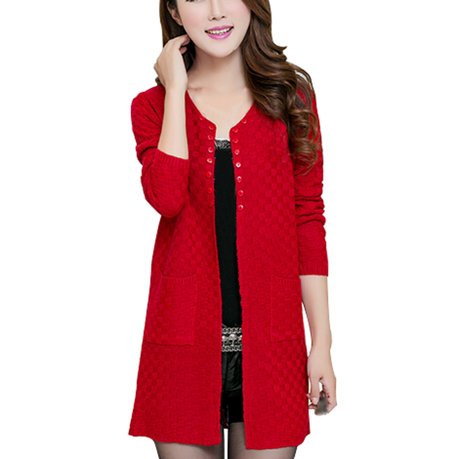 Compare Prices on Red Women Sweaters- Online Shopping/Buy Low ...
