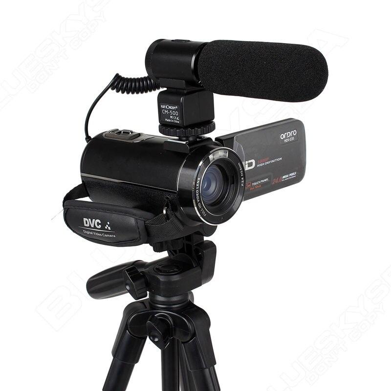 ORDRO Z20 Full HD Цифровая видеокамера Камера DV 1080 P 24MP 3 ЖК дисплей 16X зум с микрофон + штатив dijital kamera - 5