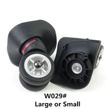Bagages de remplacement double Roues, Réparation Voyage Bagages Roue accessoires, Spinner roue de Remplacement, roues pour valises