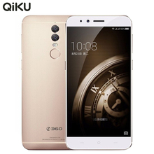 Original Qiku 360 Q5 Plus 4G LET Mobile Phone 4GB RAM 128GB ROM Snapdragon 820 Quad Core 6.0″ 13MP*2 Fingerprint Smartphone.