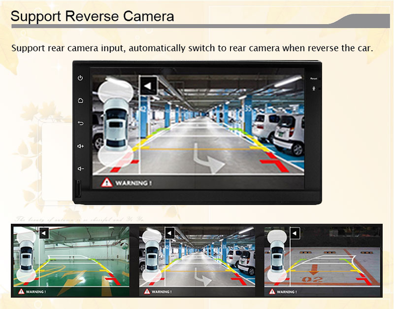 7 2DIN 176101 Android 5.1.1 Universal Quad core 1024600 Car GPS stereo radio WIFI Bluetooth Mirror Link free map NO DVD