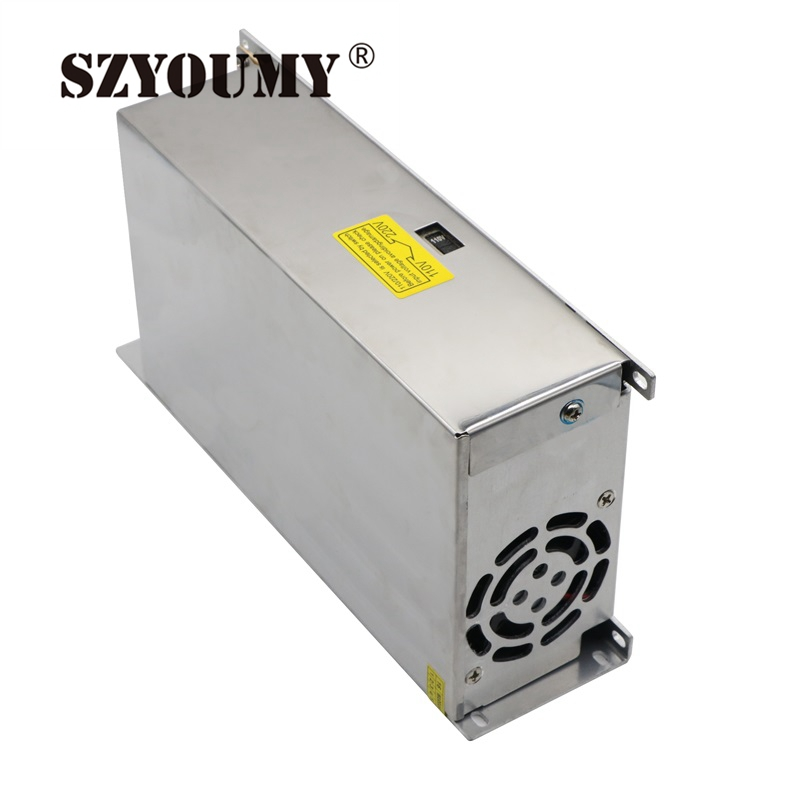 SZYOUMY 12V 40A 480W Switching Led Power Supply Non waterproof Led Driver For LED Display Screen Block Power 10PCS|led driver|driver for led|led power - title=