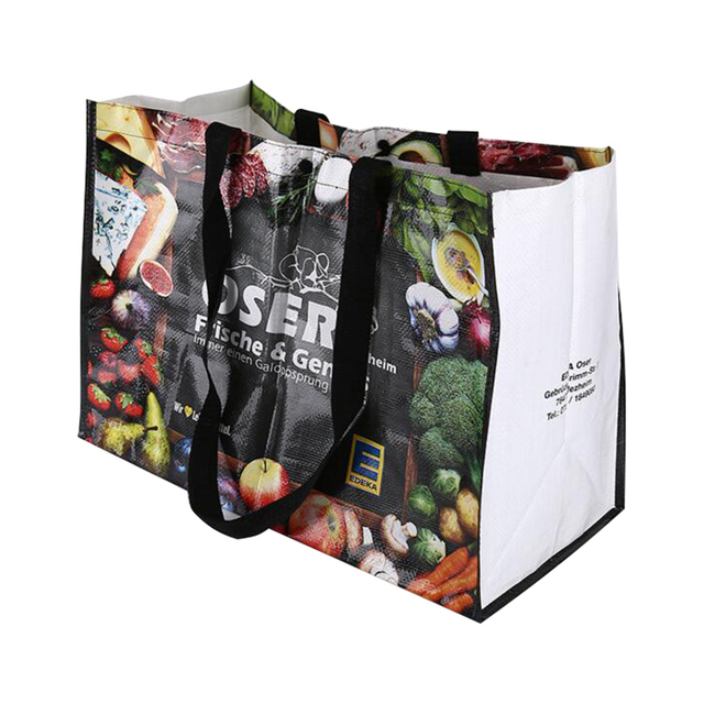 Custom Promotional bag with Full Color PP glossy Lamination