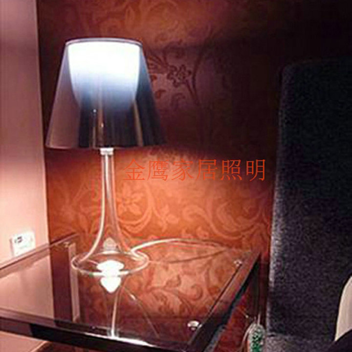 Creative Contemporary And Contracted Personality Desk Lamp Philippe Starck  Transparent Miss K Table Lamp Bedroom Light In Desk Lamps From Lights U0026  Lighting ...