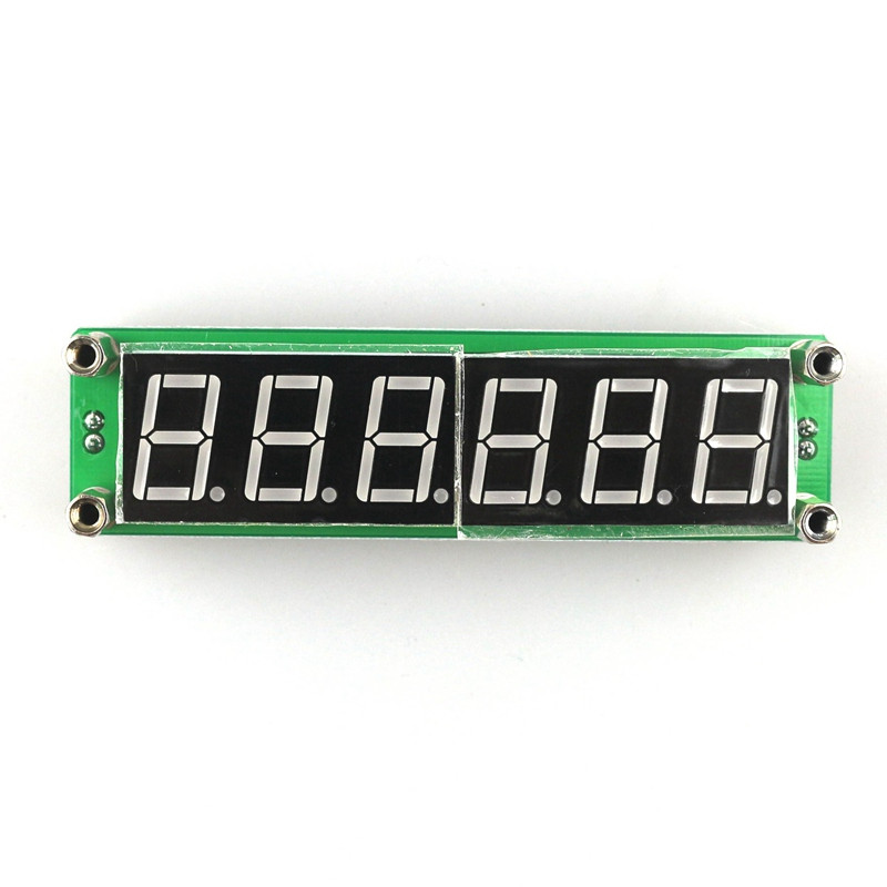 RF 6 Digit Blue Led Signal Frequency Counter Cymometer Tester 0.1 to 65 MHz t