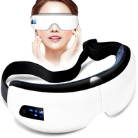 Wireless Eye Massager Multifunction Eye Massage with Music Smart Vibrating Eye Massagers Heated Goggles Anti Wrinkles Beauty
