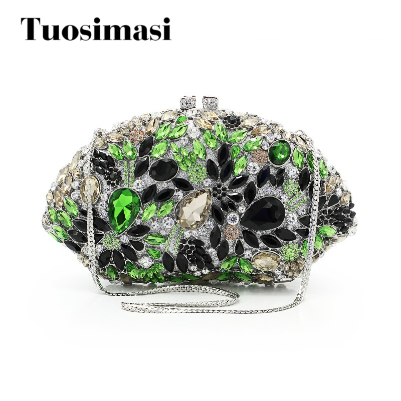 new arrival fashion ladies fancy purses wedding big diamond clutch bag woman evening clutch party handbag (8753A-GB) кружка с цветной ручкой и ободком printio французский бульдог