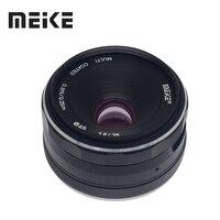 Meike 25mm f/1.8 Large Aperture Wide Angle Lens Manual Focus Lens for Sony E mount A6000 A6300 A7 A6500 A7RIII A9 with APS C