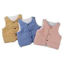 hot deal buy  2018 new spring autumn children clothes boys girls warm outerwear coats vest jackets warm waistcoat vest