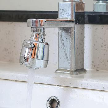 2 uds. Filtro de grifo de estilos cortos Anti-cabezal para salpicaduras dispositivo de extensión filtro giratorio de ahorro de agua accesorios de grifo de cocina Nuevo