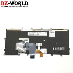 Image 2 - Новый оригинальный американский английский клавиатура подсветки для Thinkpad X230S X240 X240S X250 X260 ноутбука FRU PN 01AV500 01AV540 04X0177 04X0215