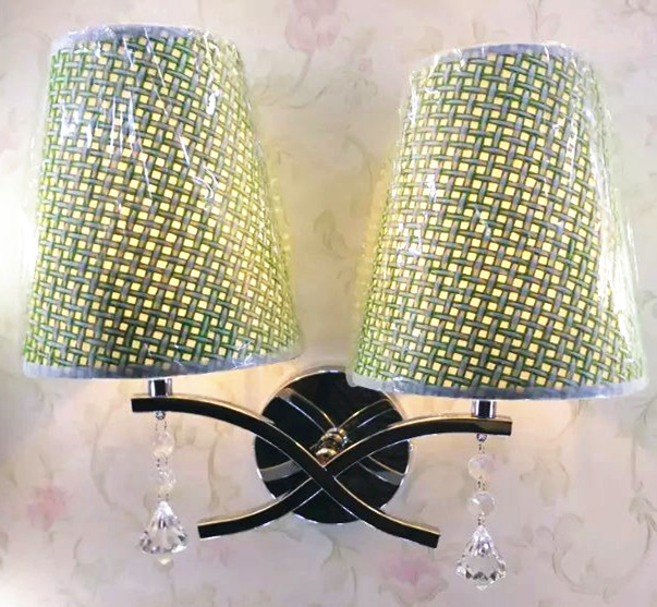 American Country Fabric Wall Lamps, Bedside Lamps Minimalist Hotel Rooms, Exhibition Halls, Home, Bedroom And Other Places