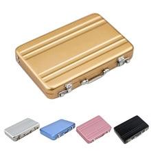 Popular mini briefcase business card case buy cheap mini briefcase mini briefcase business card case id holders password aluminium credit card holder credit case box wholesale colourmoves