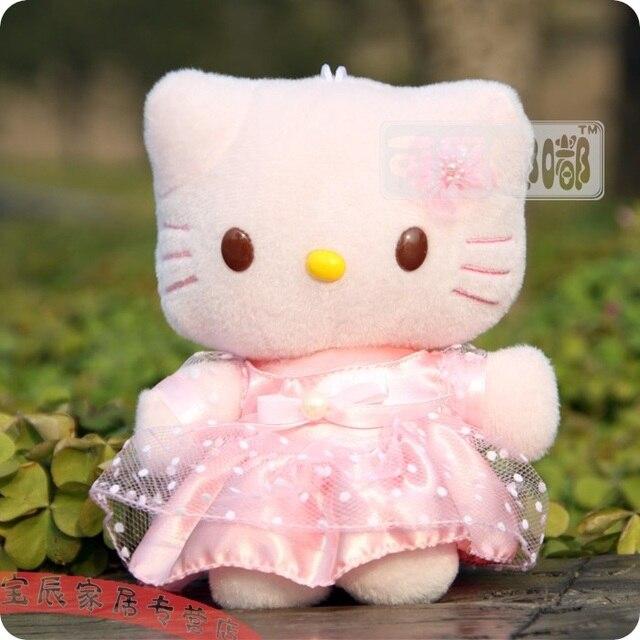 HELLO KITTY plush toy cat kt cat doll birthday gift car
