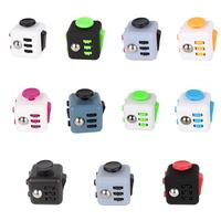 11pcs Lot 2 2 Mini Fidget Cube Stress Reliever Toy Click Glide Flip Spin Breathe Roll