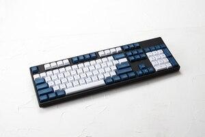 Image 4 - Dsa pbt top drukowane legendy biały niebieski klawisze laserowe wytrawione gh60 poker2 xd64 87 104 xd75 xd96 xd84 cosair k70 razer blackwdowa