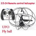 Wltoys 3.5ch gyro rc helicóptero de control remoto rc quadcopter drone helicoptero volando pelota bebé toys para el muchacho brushless motor t