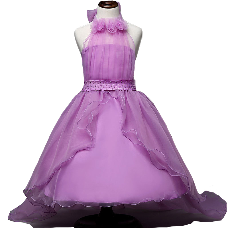 Princess tutu tulle baby bridesmaid girl wedding dress robe femme ete 2017 ball gown birthday evening party dress vestidos kids baby princess girl wedding birthday