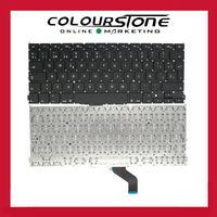 Teclado Espanhol laptop substituição do teclado para Apple Macbook Pro 13 ''Retina A1425 série 2012 2013 SP teclado preto