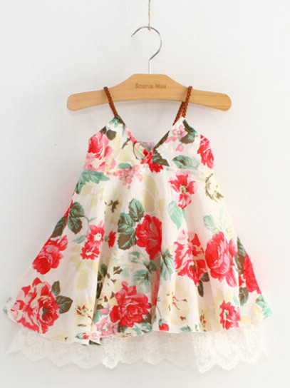 Aliexpress.com : Buy 2017 Summer Baby Girl Dress Sea Beach Bohemia ...