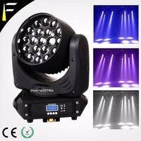 Quad LED Moving Head 19*12w LED RGBW Wash/Fast Zoom Light DMX512 Moving Heads Professional DJ/Bar/Party/Show/Led Stage Light Mac