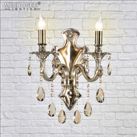 Hot Selling Brass Color Wall Sconce Light Fixture Wall Bracket Bra Lamp E14/E12 Incandescent Wall Light for Bedroom Hallway