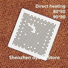 Calefacción directa 80*80 90*90 SEMS31 C SEMS31 plantilla BGA