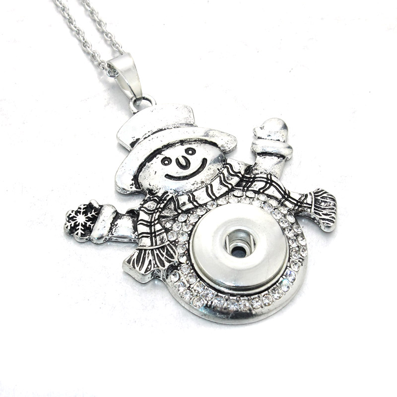 10 styles round zinc alloy snap jewelery snap buttons christmas 10 styles round zinc alloy snap jewelery snap buttons christmas pendants necklaces button charm jewelry for women 031508 in chain necklaces from jewelry aloadofball Image collections