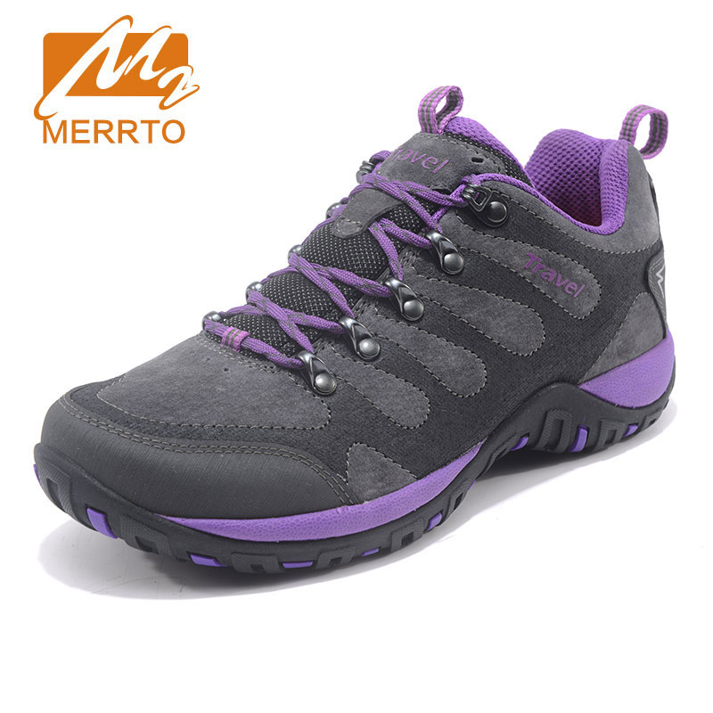 MERRTO Women Outdoor Sports Shoes Comfortable Breathable Hiking Shoes Sneakers Anti Skid Wear Climbing Shoes Climbing Shoes new hot sale children shoes comfortable breathable sneakers for boys anti skid sport running shoes wear resistant free shipping