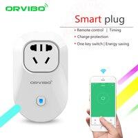 2017 orvibo Casas inteligentes sistema s20c aus estándar smart power plug socket WiFi/4G Control remoto interruptor inalámbrico para iOS /android
