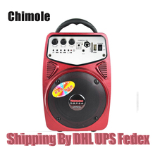 Portable Outdoor Max Power 60W Bluetooth Speaker Support TF Card USB Disk Playback Support AUX and Microphone Input Speaker