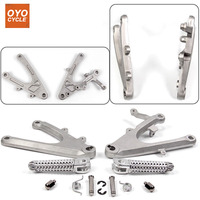 Front Rear Passenger Foot Pegs For Yamaha YZF R6 R6S R1 Bracket Footrests Footpegs YZF R6 YZF R1 YZF R6S Foot Rests