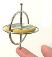 Metal Gyroscope Toys For Children Magic Spinner Gyro For Classic Traditional Science Educational Learning Balance