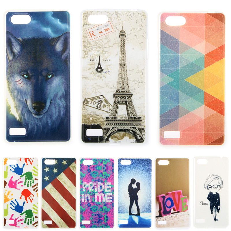 finest selection a2423 55c71 US $1.98 |Fashion Personality Painted patterns Soft TPU Back cover For Oppo  A33 \ OPPO Neo 7 5.0 Cell Phone Protective Case-in Fitted Cases from ...